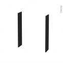 AVARA Frêne Noir - Côtés caisson N°50 - H70xP15xEp 1,6