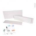 HAKEO - Haut bas armoire de rangement N°94 - L80xH70xP25