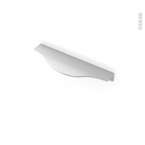 Poignée de meuble - Salle de bains N°57 - Inox brossé - 14,6 cm - Entraxe 128 mm - HAKEO