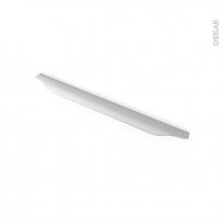 HAKEO - Poignée de salle de bains N°57 - Inox brossé - 39,6cm - Entraxe 288
