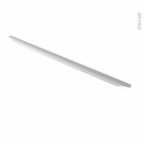 Poignée de meuble - Salle de bains N°57 - Inox brossé - 79,6 cm - Entraxe 288 mm - HAKEO