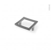 Poignée de meuble - Salle de bains N°51 - Inox brossé - 7,4 cm - Entraxe 64 mm - HAKEO