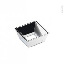 HAKEO - Poignée de salle de bains N°22 - Chromé brillant - 5,2cm - Entraxe 32