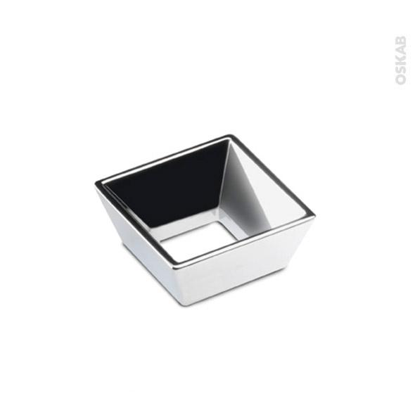 Poign e de salle de bains n 22 chrom brillant 5 2cm for Poignee meuble salle de bain
