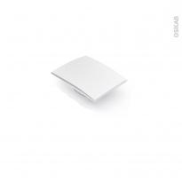Poignée de meuble - Salle de bains N°26 - Chromé brillant - 6 cm - Entraxe 16 mm - HAKEO