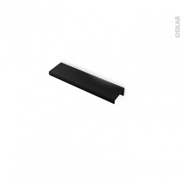 HAKEO - Poignée de salle de bains N°36 - Noir - 13,6cm - Entraxe 64