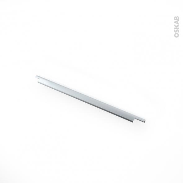 HAKEO - Poignée de salle de bains N°37 - Inox brossé -  60cm - entraxe 192
