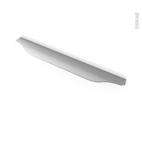 HAKEO - Poignée de salle de bains N°57 - Inox brossé - 29,6cm - Entraxe 192
