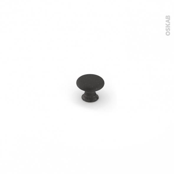 poign e de meuble salle de bains n 62 acier noir mat 3 3 cm hakeo oskab. Black Bedroom Furniture Sets. Home Design Ideas