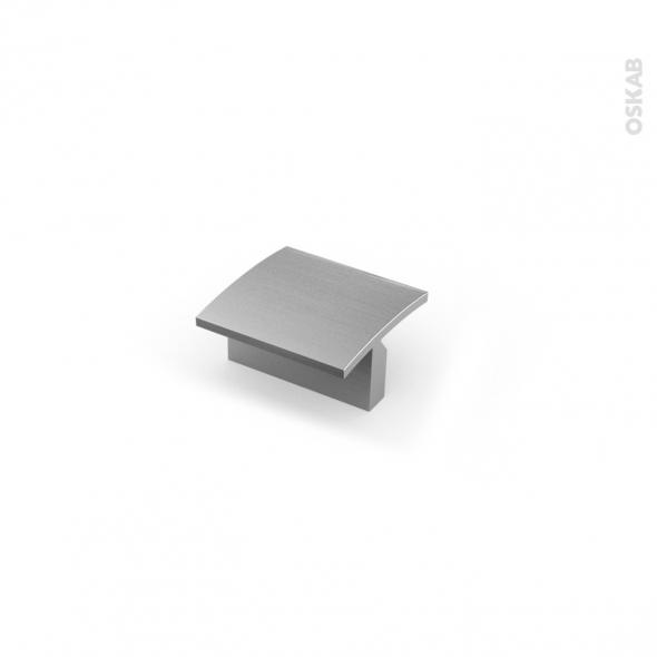 Poignée de meuble - Salle de bains N°56 - Inox brossé - 4,4 cm - Entraxe 32 mm - HAKEO