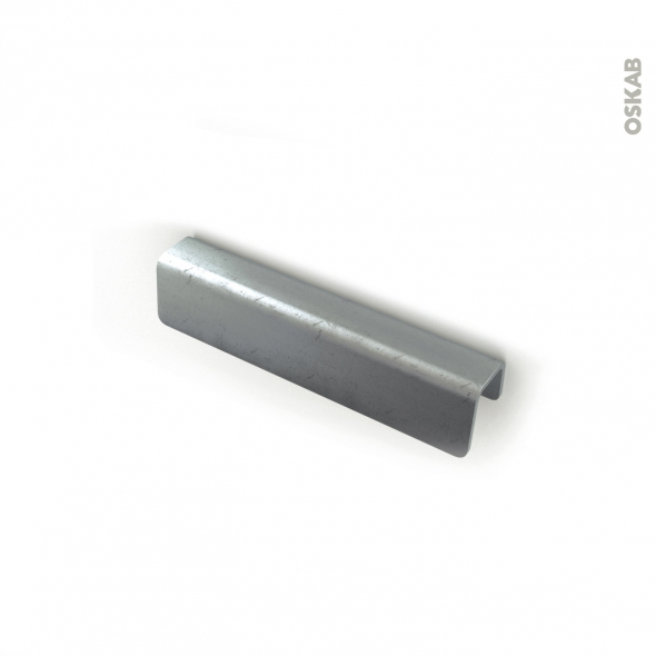 Poignée de meuble - de cuisine N°52 - Vieux fer - 14 cm - Entraxe 96 mm - SOKLEO
