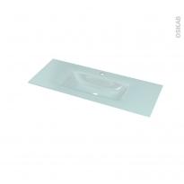 Plan vasque EGEE - Verre d'eau - L100,5xP40,5