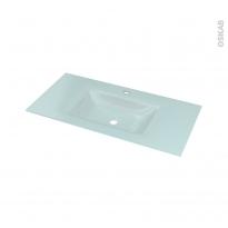 Plan vasque EGEE - Verre d'eau - L100,5xP50,5