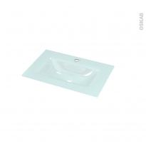 Plan vasque EGEE - Verre d'eau - L60,5xP40,5