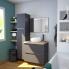 #Vasque salle de bains - PUREA - A poser - Céramique blanche - Ronde