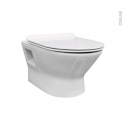 Cuvette WC suspendu - IDAO - Sans bride