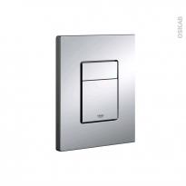 Plaque de commande WC suspendu - Skate Cosmopolitain chromée - GROHE