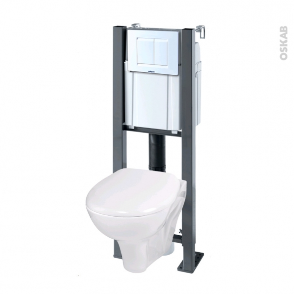 Dimension bati wc suspendu affordable wc suspendu for Hauteur standard wc suspendu
