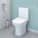 Pack WC à poser - sortie horizontale - DELLA - Sans bride
