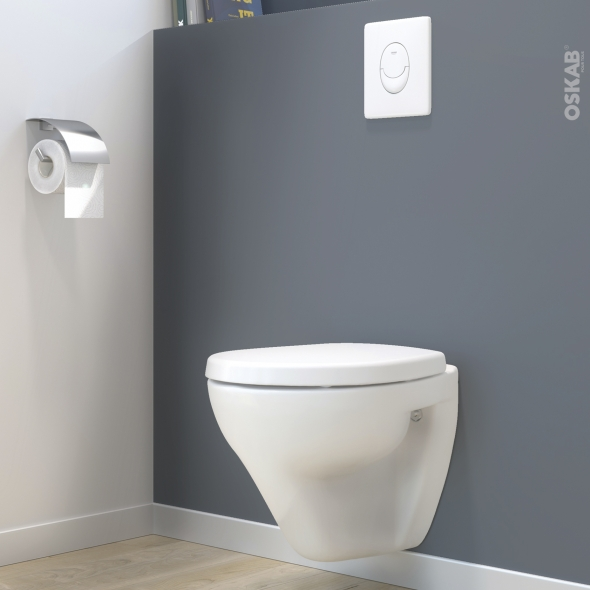 pack wc suspendu b ti mural grohe cuvette zapa plaque. Black Bedroom Furniture Sets. Home Design Ideas