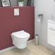 Pack WC suspendu - Bâti universel Rapid SL GROHE - Cuvette IDAO - Sans bride - Plaque chromée