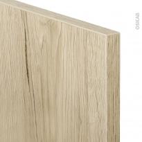 Echantillon - Meuble de cuisine - IKORO Chêne clair - L7xH14