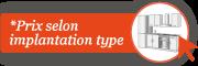 Implantation type CUISINE