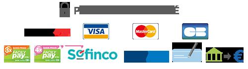 Payez votre projet d'aménagement avec nos nombreuses solutions de paiement sécurisé